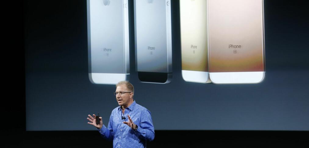 Apple lanserer iPhone SE