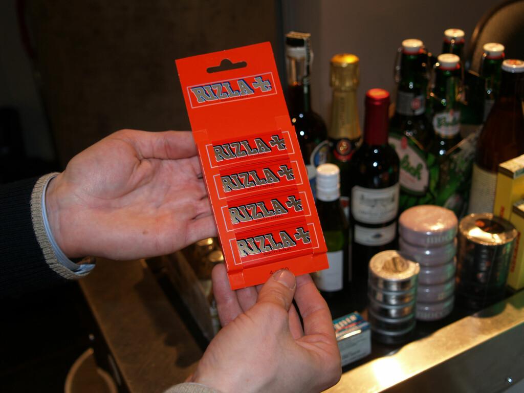 GRENSER FOR DETTE: Det er en egen kvote for sigarettpapir. Foto: BERIT B. NJARGA