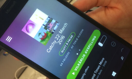 image: Spotify avkrefter at de kutter ut Windows Phone