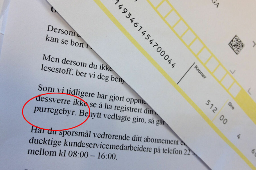 <b>UVENTET:</b> Fått en regning fra kommunen du skjønner lite av? Ta kontakt med dem. Foto: BERIT B. NJARGA