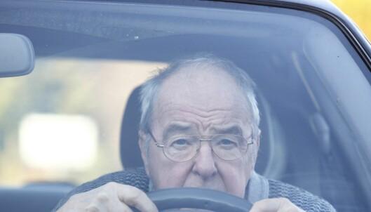 Når bør eldre sjåfører fratas førerkortet?