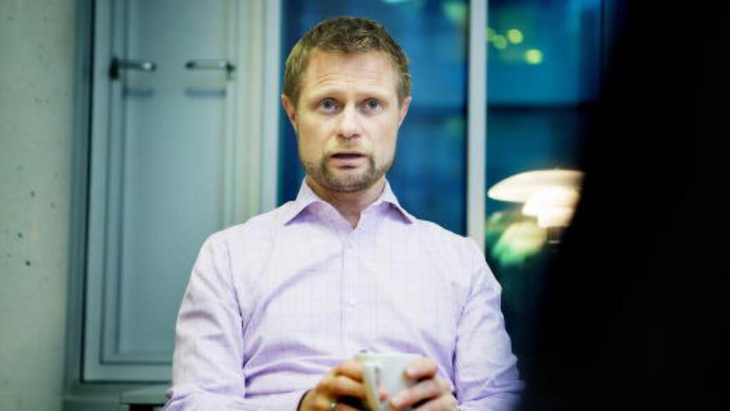 FOR SENT: Helseminister Bent Høie (H) sier at verdenssamfunnet kom for sent på banen i kampen mot ebola. Foto: Christian Roth Christensen / Dagbladet