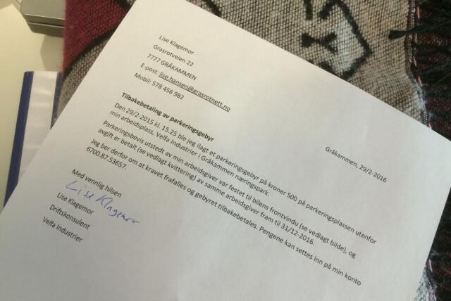 f2d3b5d0 Jobb: Slik skriver du et formelt brev - DinSide