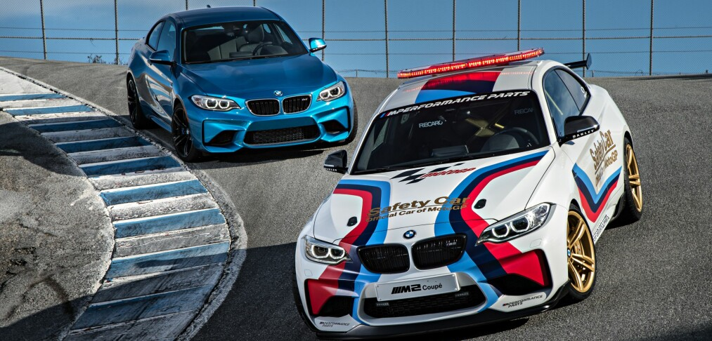 BMW M2 for banen