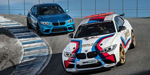 image: BMW M2 for banen