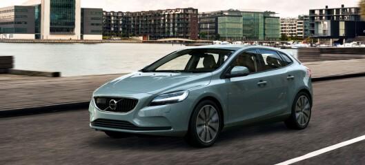 Nå kommer Volvo V40 med ansiktsløft
