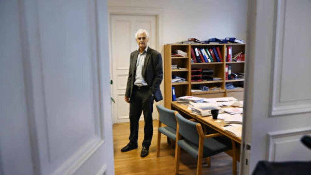 - IKKE GI: Børre Hagen, daglig leder i Innsamlingskontrollen. Foto: Frank Karlsen / Dagbladet