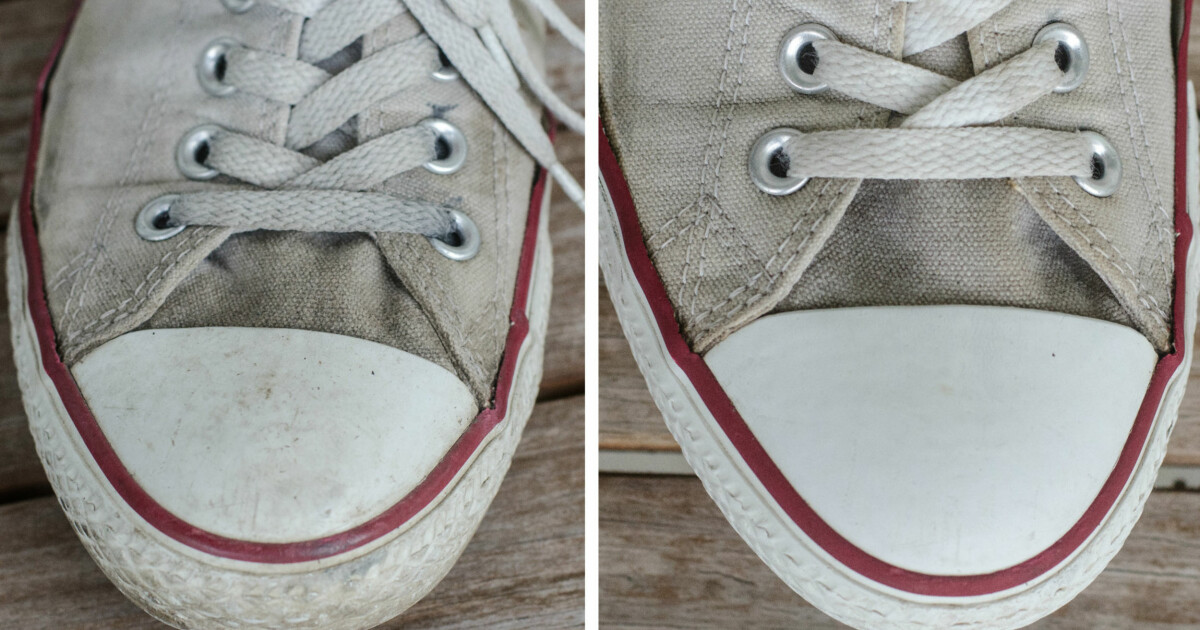 273cef19 Hvordan vaske Converse-skoene? - DinSide