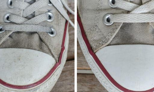image: Hvordan vaske Converse-sko?