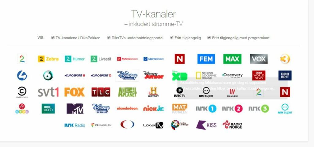 Nei, du kan ikke velge bredbånd og TV som du vil - DinSide