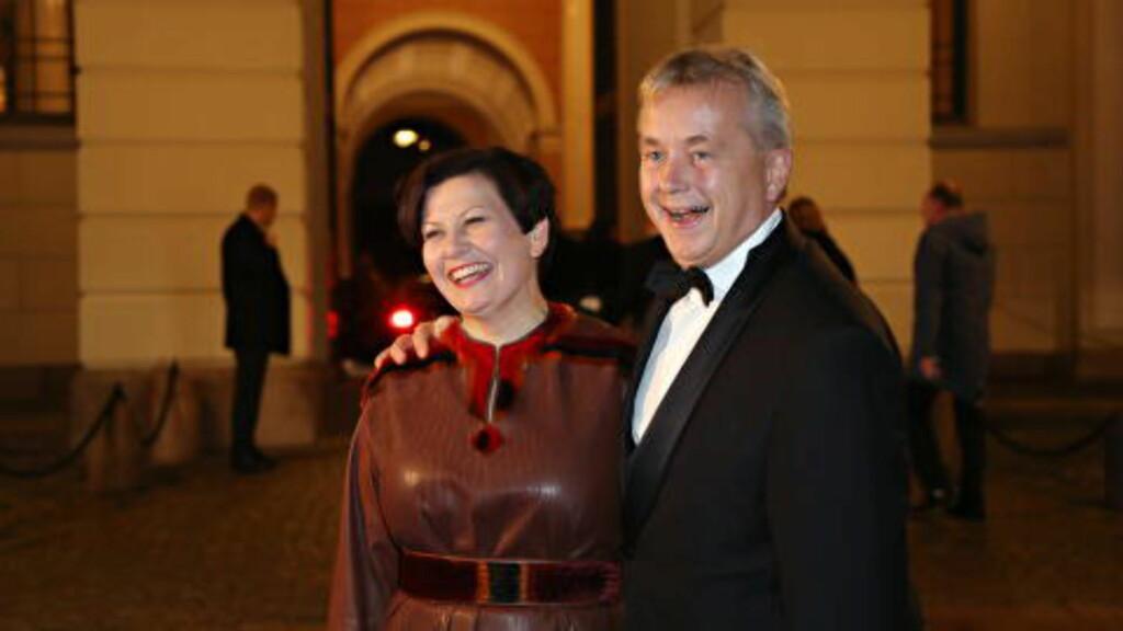 GLAD GJENG:  Helga Pedersen (Ap) og Knut Storberget (Ap) gledet seg til årets fireretters. Foto: Frank Karlsen/Dagbladet