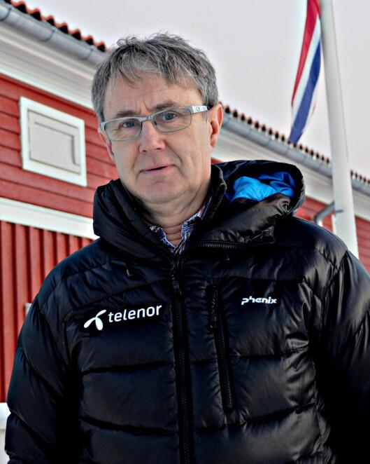 <strong><b>EN NY VERDEN:</strong></b> Dekningsdirektør i Telenor, Bjørn Amundsen, mener kundene har all grunn til å glede seg over å kunne ringe over 4G-nettet. Foto: TORE NESET