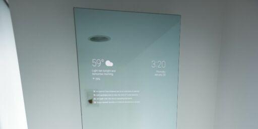 image: Det smarte baderomsspeilet til en Google-ingeniør