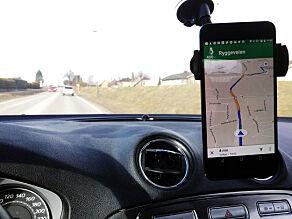image: Slik vet Google hvor tett trafikken er