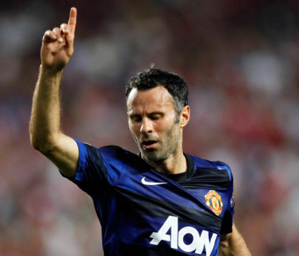 1: Ryan Giggs. Foto: AP Photo/Armando Franca/NTB Scanpix