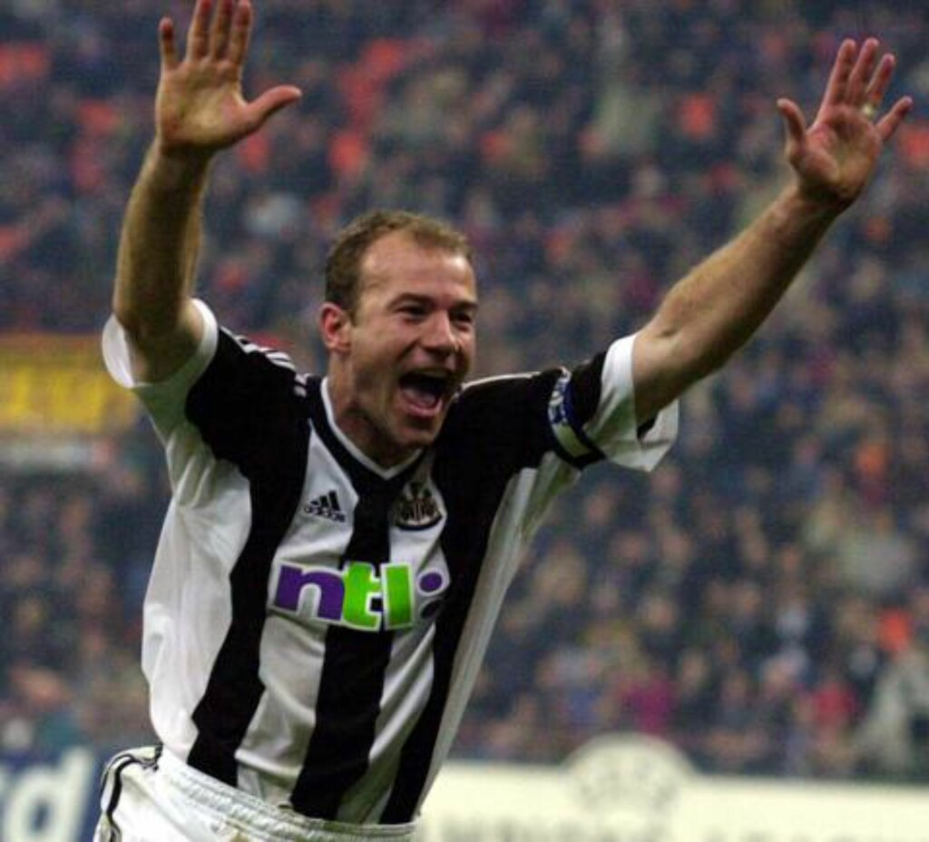 4: Alan Shearer. Foto: AP Photo/Alberto Pellaschiar/NTB Scanpix