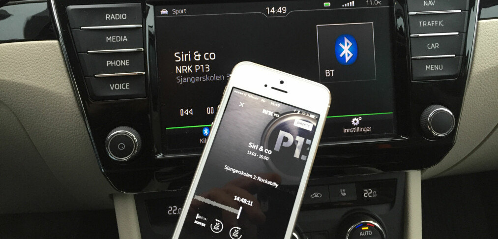 I bilen: Fungerer nettradio like bra som DAB+?