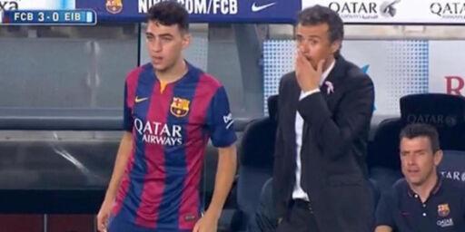 image: Enrique ville bytte ut Messi - det var uaktuelt for stjernen