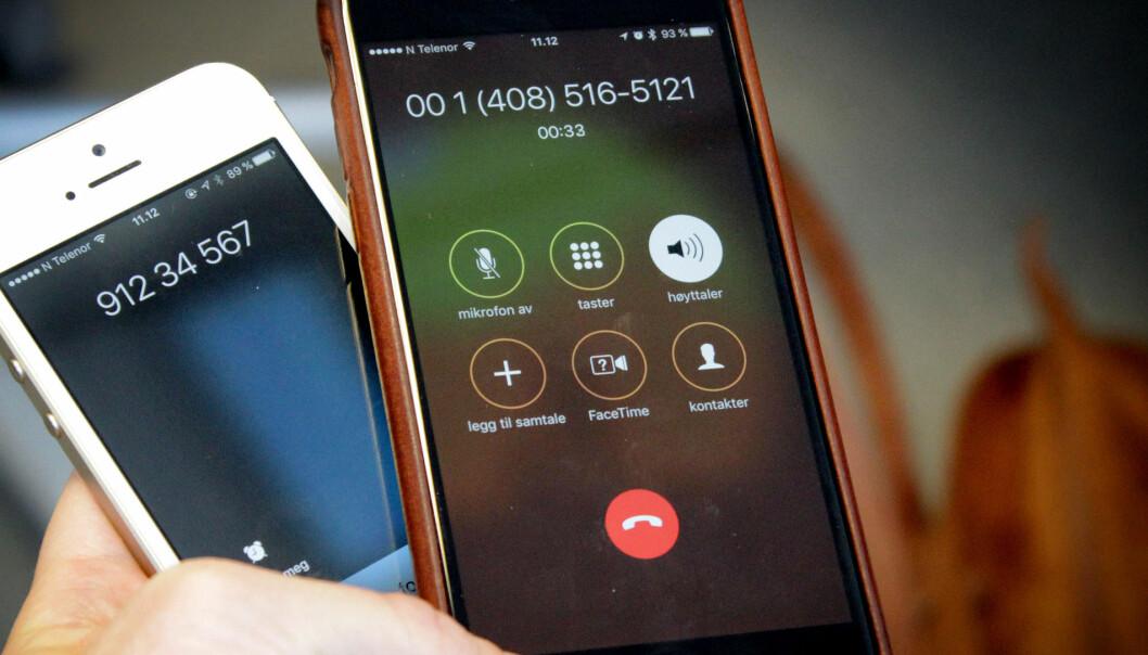 Så enkelt lagde vi falske telefonnumre, e-post-adresser og tekstmeldinger