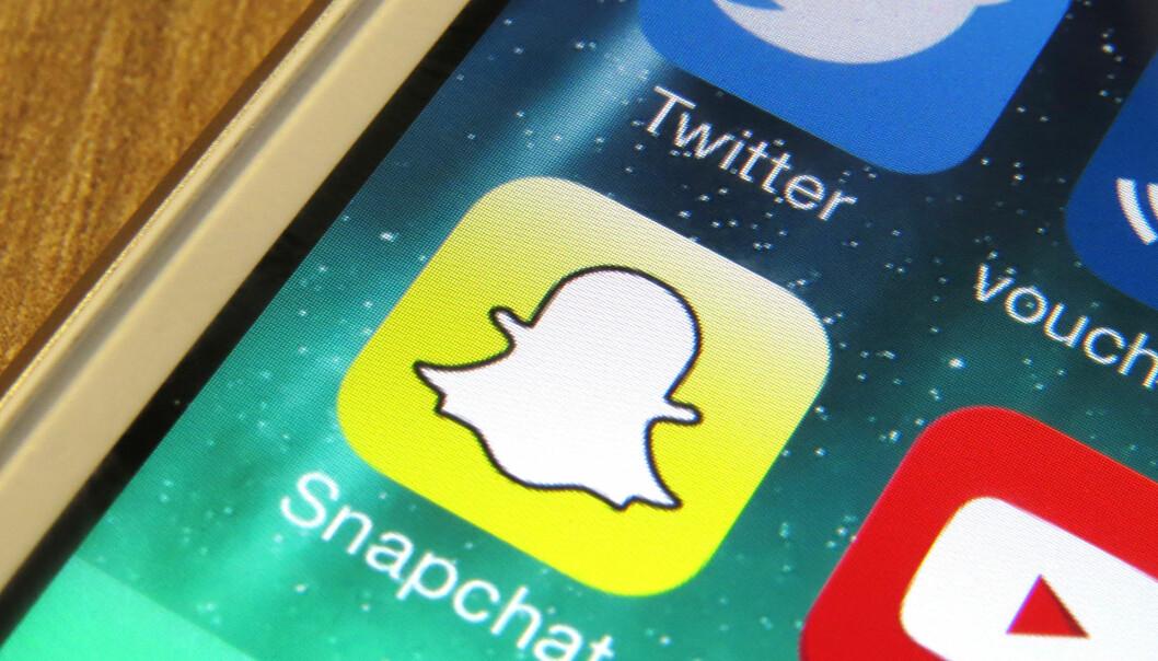 Slik kommer du i gang med Snapchat