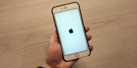image: Nettsiden som krasjer iPhone
