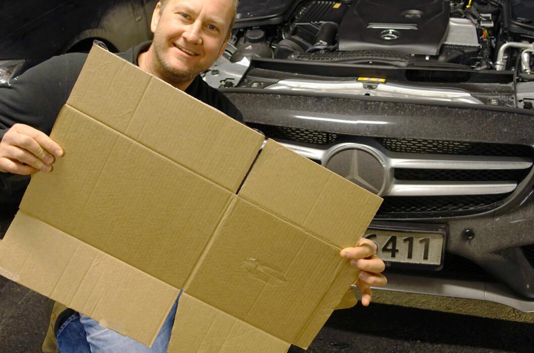 <strong><B>ENKELT OG GRATIS:</strong></b> Sliter du med å få varme i bilen? Sjekk dette trikset. Foto: KNUT ARNE MARCUSSEN