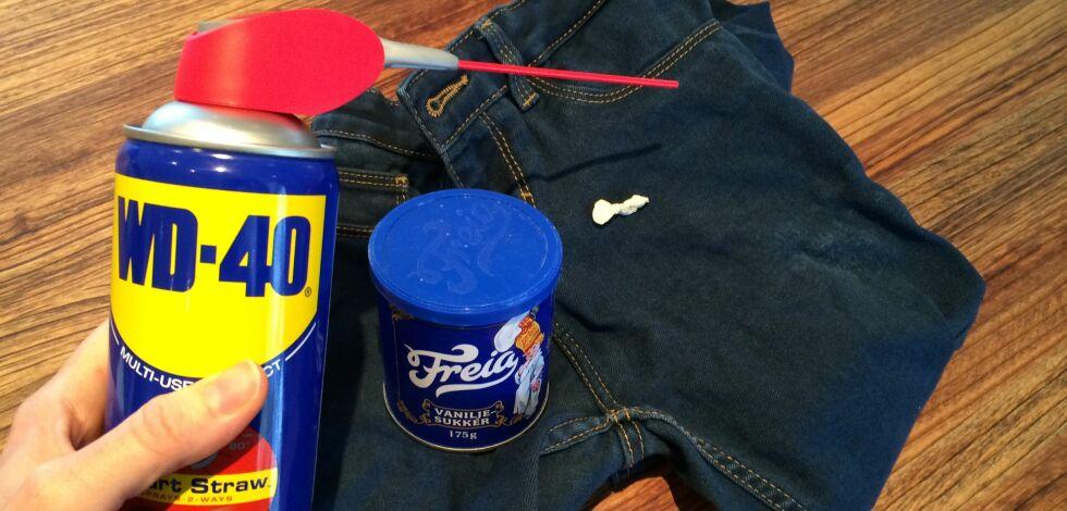 image: Hvordan fjerne tyggegummi fra klærne