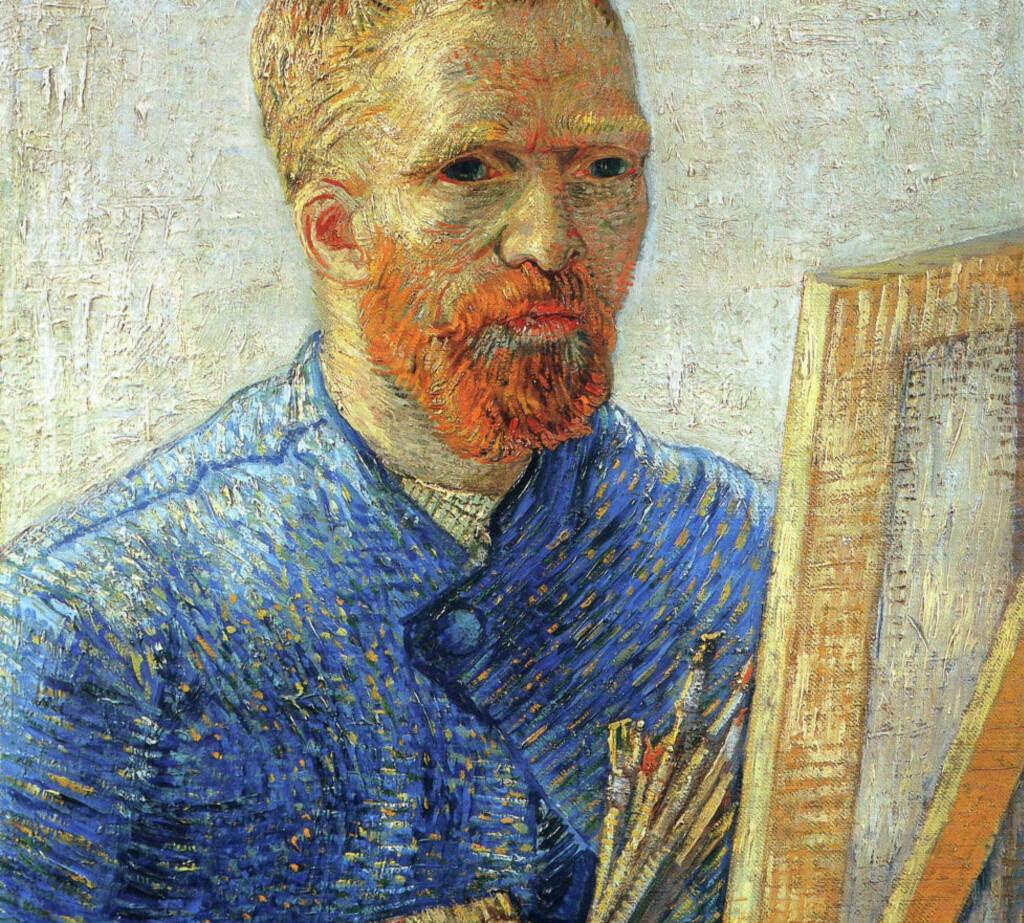 ET IKON: Vincent van Gogh er et ikon. Han malte selvportretter i løpet av sin korte karriere.