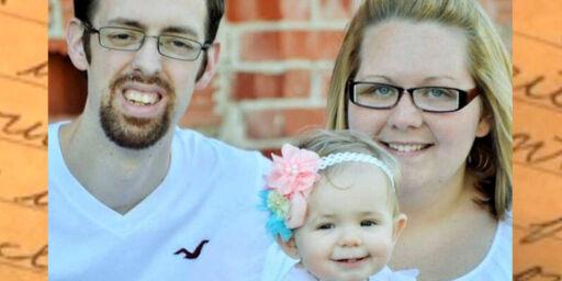 image: Mitchell (26) skrev brev i skjul til kona og datteren før han døde
