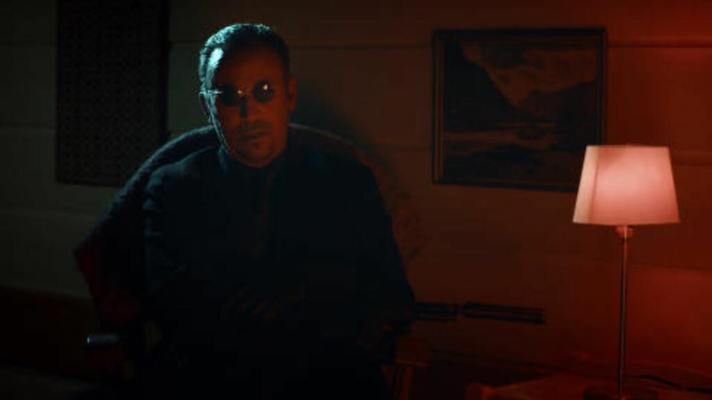 MØRK OG MYSTISK:  Her er Guiseppi, spilt av Bruce Springsteen. Foto: Pål Bugge Haagenrud