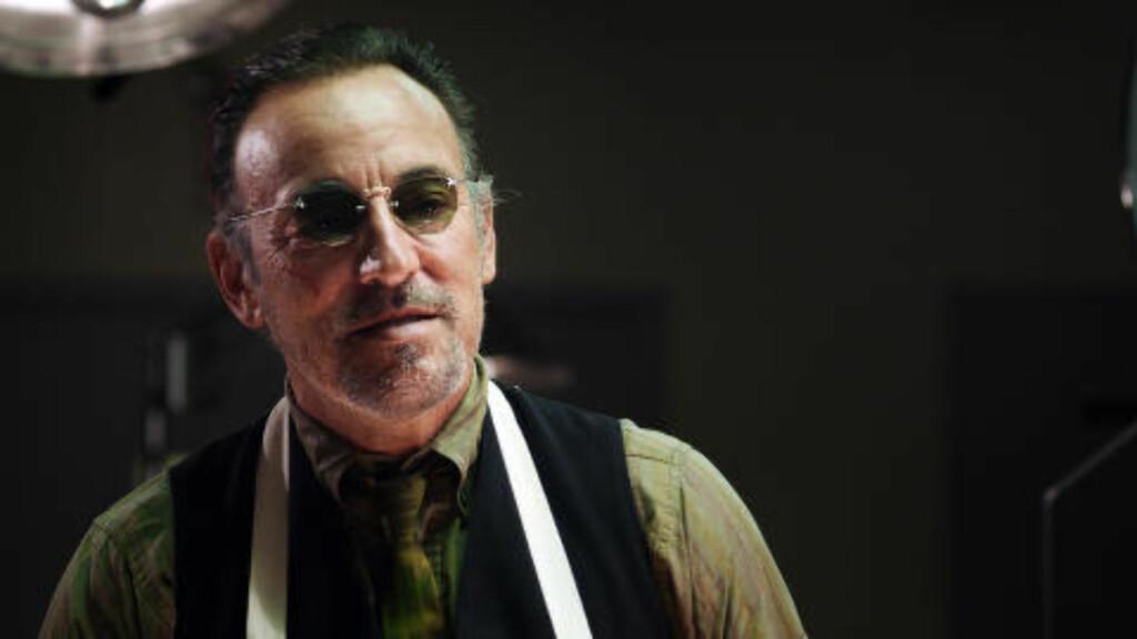 ITALIENSK BROR:  Springsteen inntog i «Lilyhammer» er hans skuespillerdebut. Foto: Pål Bugge Haagenrud