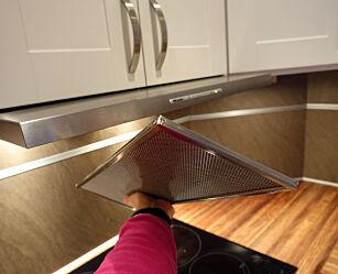 image: Slurver du med renholdet, kan det ta fyr i kjøkkenvifta