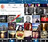 Hvordan deler jeg et innlegg med flere bilder eller videoer på Instagram?