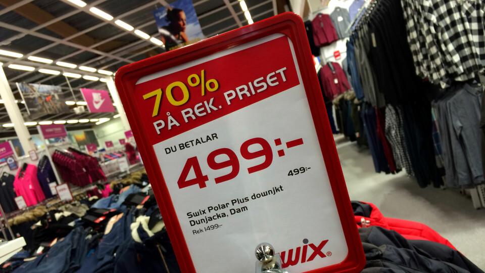 74a66126 Svenskehandel: Er det billigere sportsklær i Sverige? - DinSide