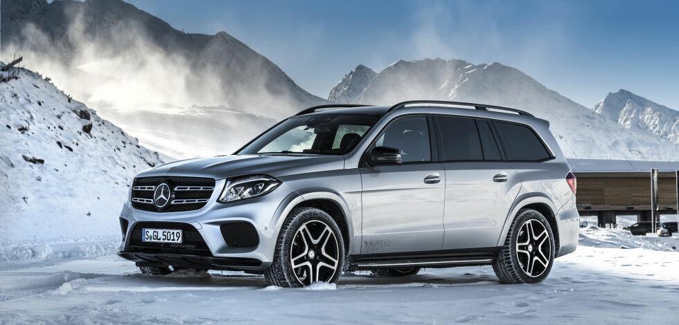 image: Testet: Nye Mercedes-Benz GLS