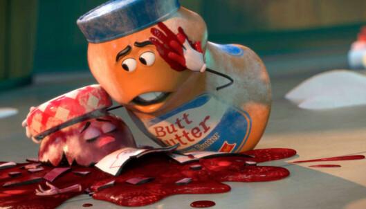 <strong>SLÅR AN:</strong> Animasjonsfilmen «Sausage Party» gjør det godt på kino. Foto: : Sony Pictures Entertainment <div><br></div>