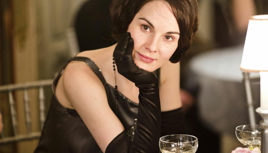LADY MARY: Skuespiller Michelle Dockery spilte rollen som Lady Mary Crawley gjennom de seks sesongene av serien. FOTO: ITV / NRK