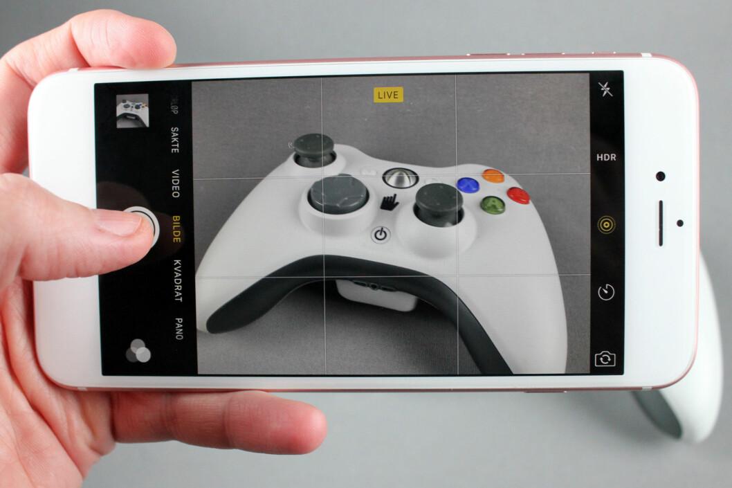 <strong><b>LEVENDE BILDER:</strong></b> En ny kamerafunksjon på iPhone blåser liv i stillbildene dine. Foto: KIRSTI ØSTVANG