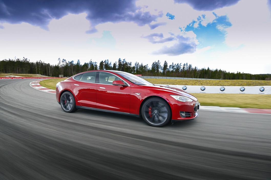 <strong><b>MEST SØKT:</strong></b> Av de mest søkte bilmerkene er Tesla på topp, etterfulgt av Golf på andre og BMW på tredje.  Foto: JAMIESON POTHECARY