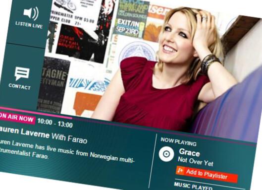 <strong><b>GUIDE:</strong></B> Det finnes mange tusen musikkstasjoner å velge i på nettet. Foto: BBC