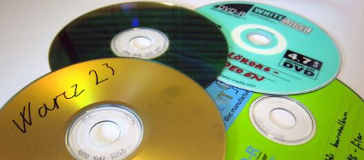 <strong><B>BRENN TIL EN VENN:</strong></b> CD-plater kan fritt kopieres med loven i hånd, så lenge det bare skjer i din indre krets. Foto: BJØRN EIRIK LOFTÅS