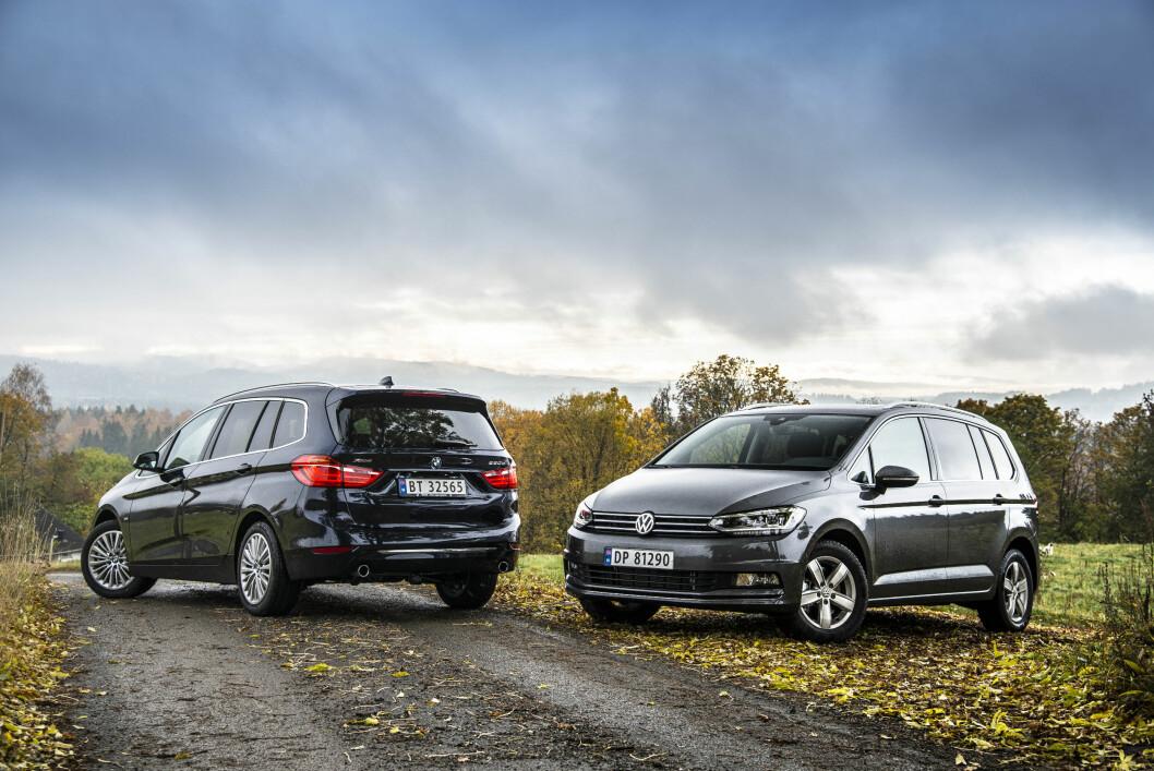 <strong><b>SIKTER HØYT:</strong></b> BMW satser på at 80 prosent av Gran Tourer-kundene kommer fra andre merker. VW satser på å kuppe markedet. Foto: JAMIESON POTHECARY
