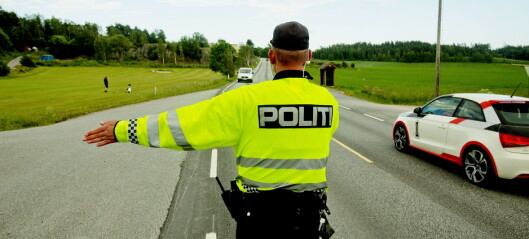 Politiet sjekker over 700.000 bilister i år