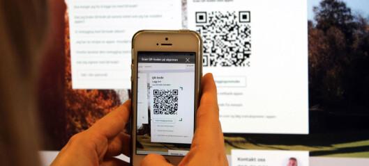 Vi har testet Skandiabankens innlogging med QR-kode
