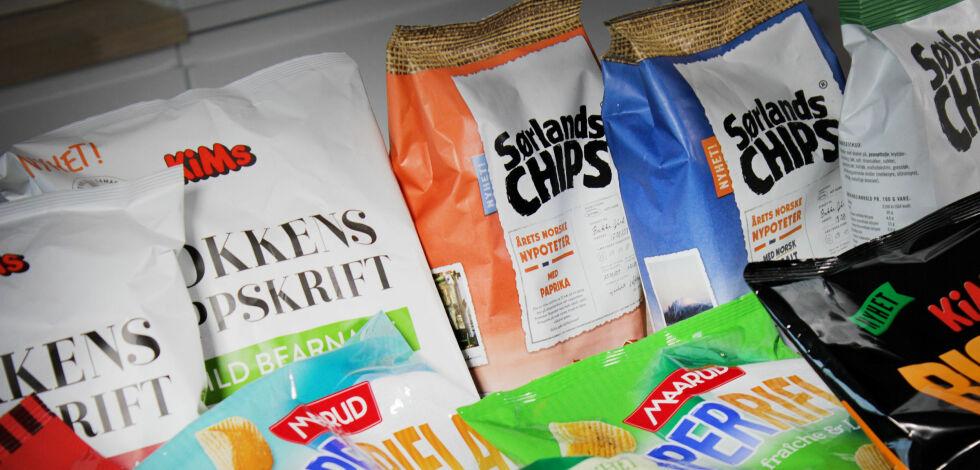 image: Test av årets chips og snacksnyheter