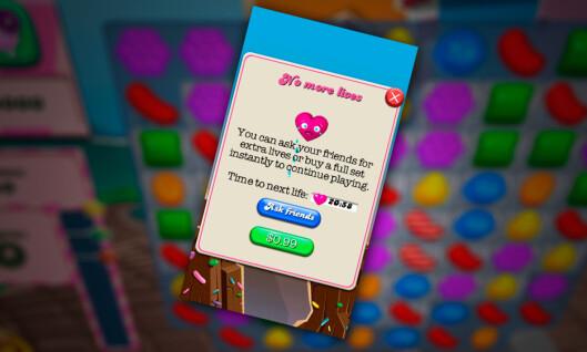 <strong><b>LIGG UNNA:</strong></b> La være å spille opp Candy Crush-livene dine hvis du vil sove. Foto: PÅL JOAKIM OLSEN