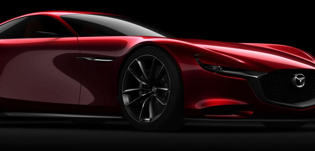 Mazda RX-Vision Concept: Wankel-motoren gjenoppstår