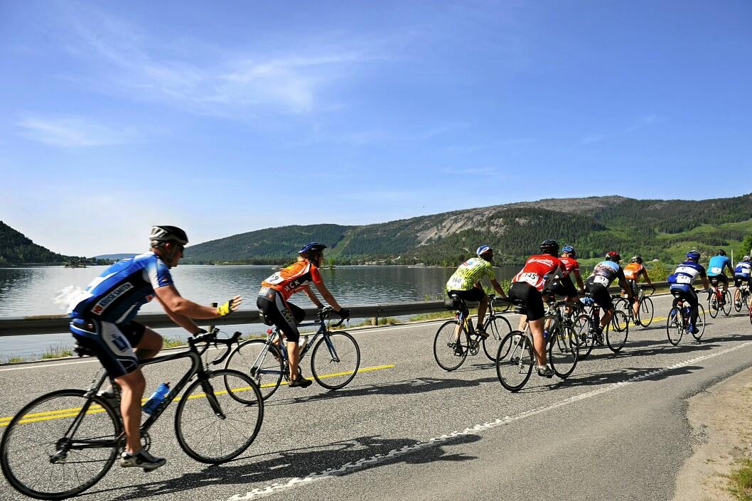 <b>GÅR PROSJEKTET ETTER PLANEN</b> må du være ekstra oppmerksom i kryssene hvor syklistene har forkjørsrett.  Foto: NTB SCANPIX / OTTO ALSAKER