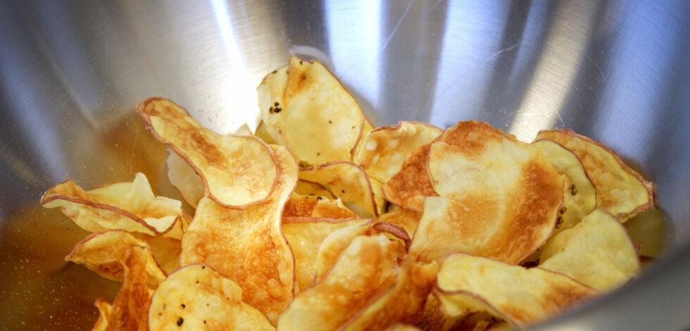 image: Lag ditt eget potetgull i mikroen