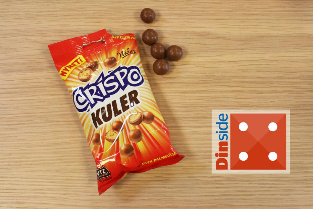 <strong><b>NIDAR:</strong> CRISPO:</b> Best likt blant dem som var i utgangspunktet var minst begeistret for Crispo-sjokoladen. Foto: MERETHE HOMMELSGÅRD
